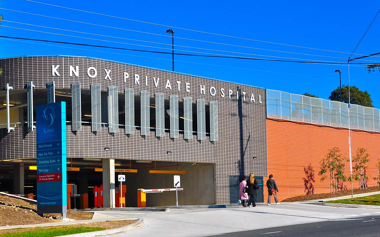 Knox Private Hospital Car Park